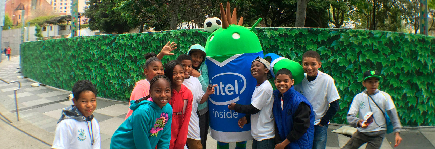 VM Youth with Intel Mascot